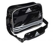 Сумка спортивная черно-белая Adidas Sports Carry Bag Boxing S ADIACC110CS2S-B