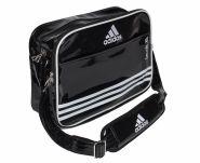 Сумка спортивная черно-белая Adidas Sports Carry Bag Taekwondo S ADIACC110CS2S-T