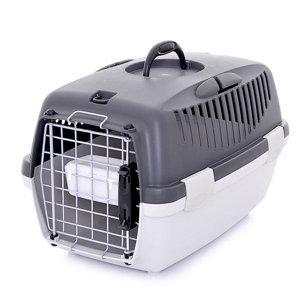 Переноска Stefanplast Gulliver 1 Delux до 6кг с металлической дверцей 48х32х31см для кошек и собак