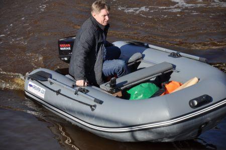 Надувная лодка ГРУПЕР — 320