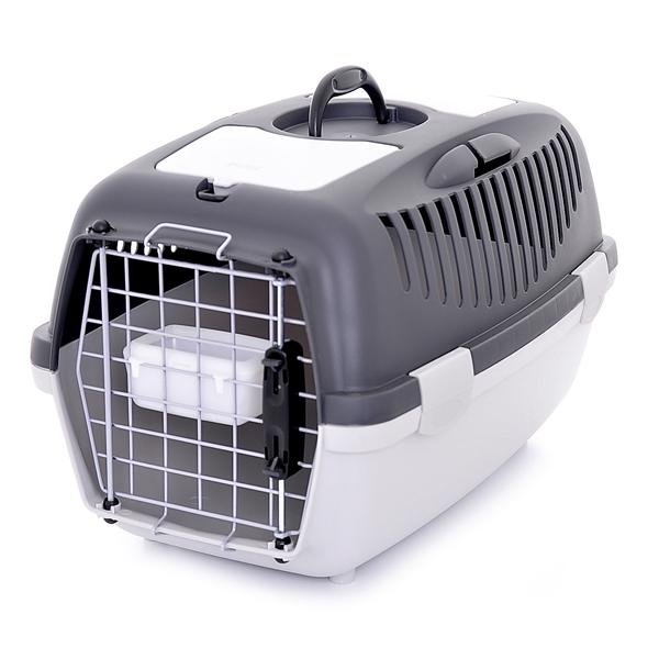 Переноска Stefanplast Gulliver 2 Delux до 8кг с металлической дверцей 55х36х35см для кошек и собак