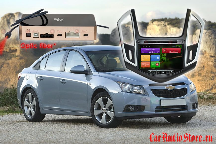 Redpower 31052 DVD Chevrolet Cruze 2013+