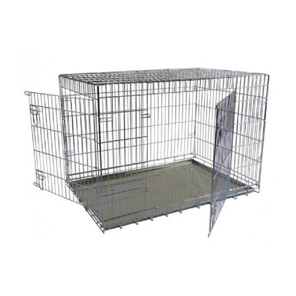 Клетка Papillon металлическая с 2 дверками 118х78х85см для кошек и собак
