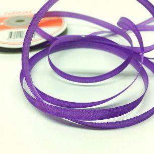 Лента атласная фиолетовая 3 мм для творчества