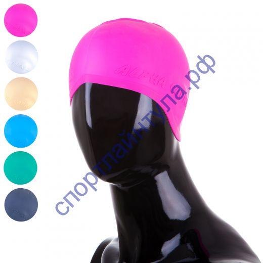 Шапочка для плавания SCN одноцветная