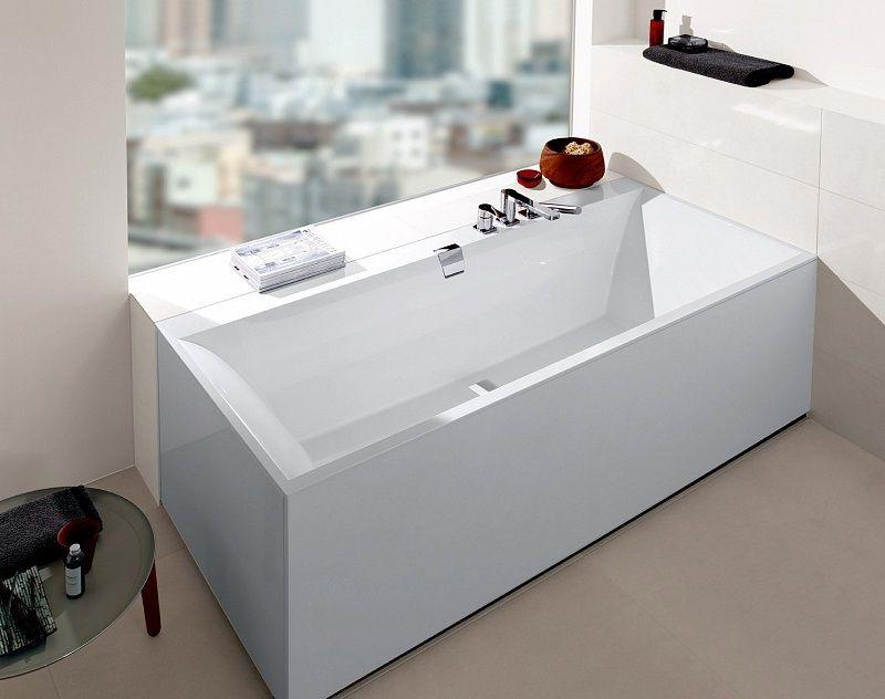 Ванна SQUARO EDGE 12 Duo (Скваро) 180x80 ФОТО