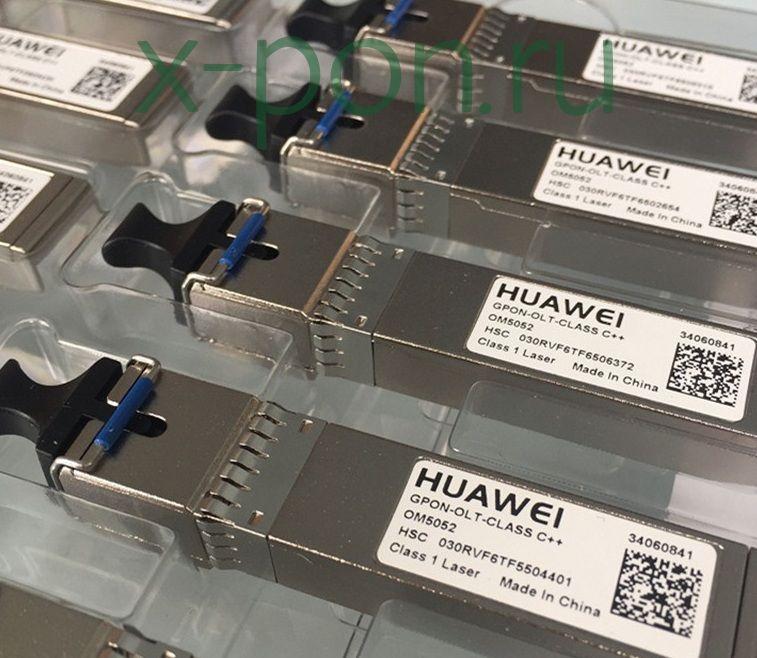 Модуль SFP WDM GPON, 35dB, Tx/Rx: 1490/1310нм Class C++ (производитель Huawei)