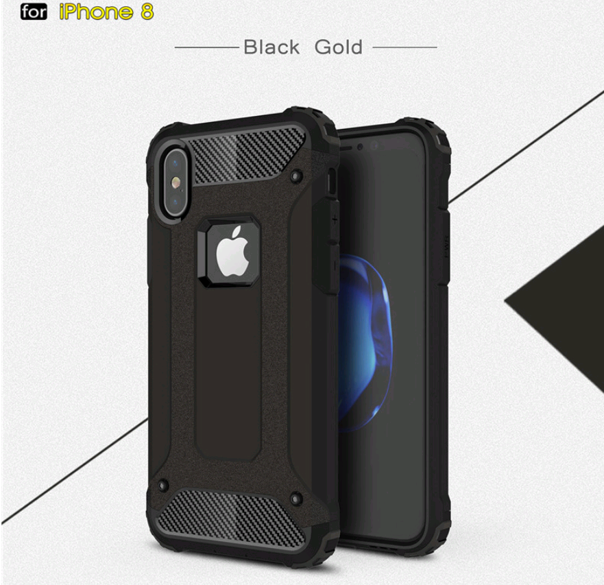 Чехол Spigen Tough Armor Tech iPhone X 10 black