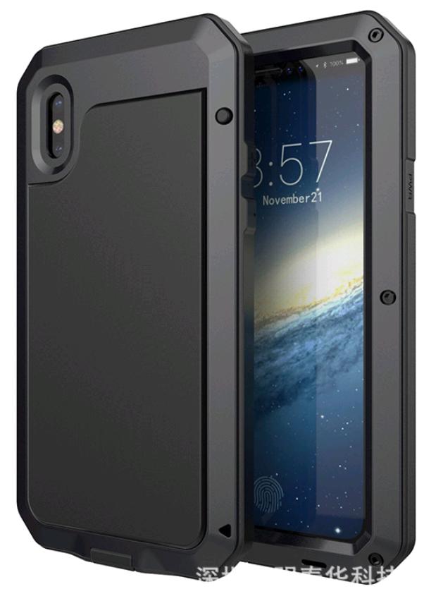 lunatik taktik extreme для  iphone X 10 (черный)