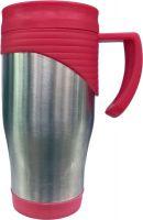 Термокружка Vetta стальная 450 мл с поилкой красная