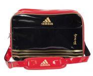 Сумка спортивная черно-красно-золотая Adidas Sports Carry Bag Karate L ADIACC110CS2L-K