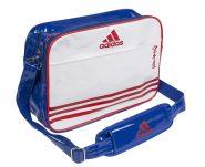 Сумка спортивная бело-сине-красная Adidas Sports Carry Bag Karate L ADIACC110CS2L-K