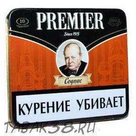 """Сигариллы PREMIER """"Cognac"""" 10 шт"""