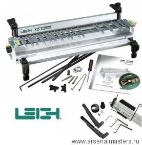 КОМПЛЕКТ: Профессиональная шипорезка Leigh D4R Pro 600 мм ПЛЮС Устройство пылеудаления и поддержки фрезера
