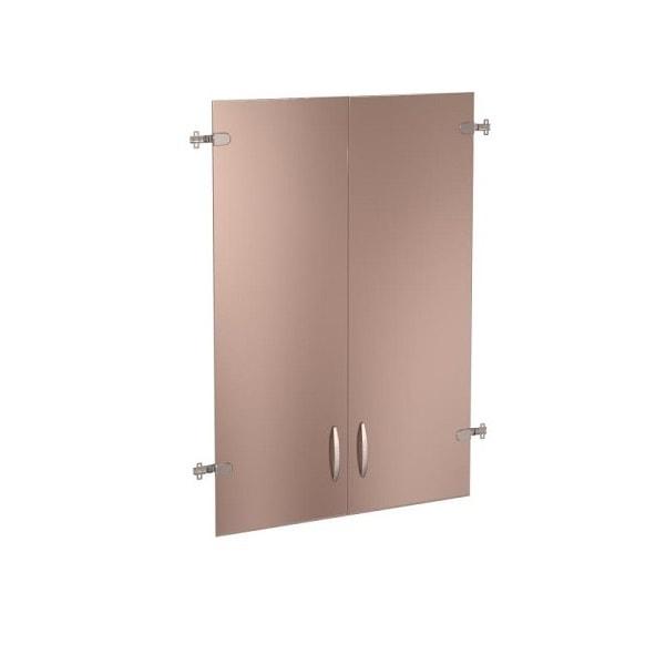 Двери стеклянные (3 секции) «Альфа»