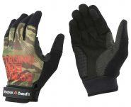 Перчатки для фитнеса черно-зеленые Adidas CrossFit Mens Training Glove AY4319