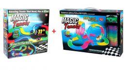Гоночная трасса MAGIC TRACK 456+X, 2 машинки, (набор из 236+220)