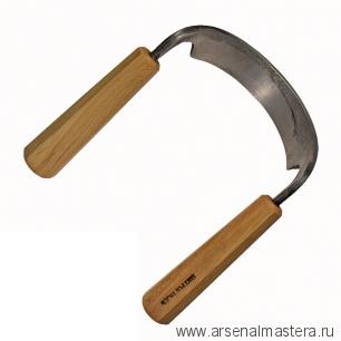Скобель Петроградъ N3 170мм (полукруглый, R60) М00013305