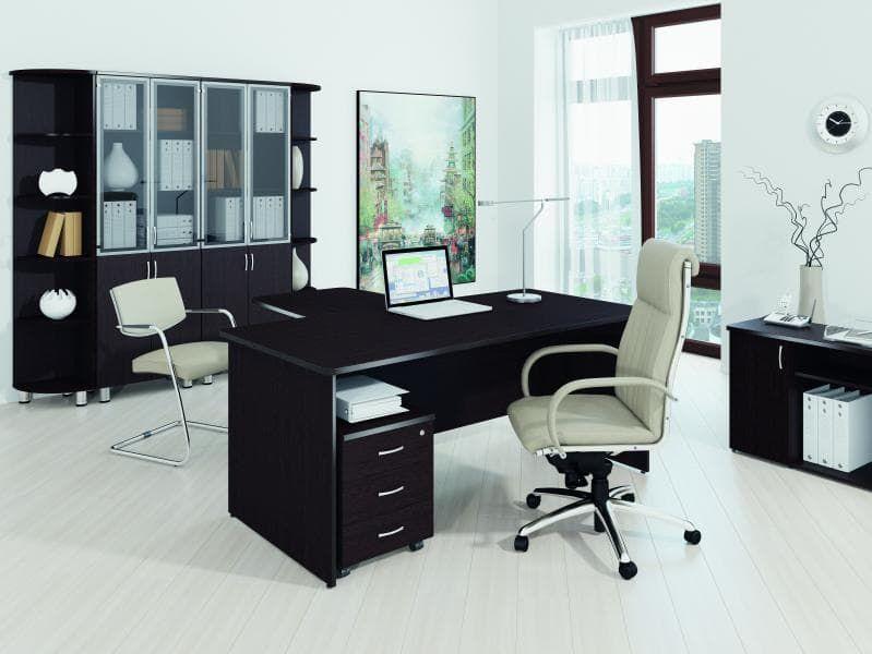 Набор мебели для руководителей (Кабинет)(5 предметов) «Лидер-Престиж»