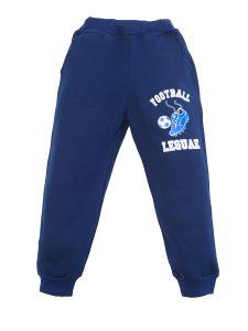 темно-синие штаны для мальчика с начесом