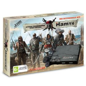 "Sega - Dendy ""Hamy 4"" 350in1 Assassin Creed Black"
