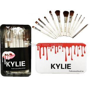 Кисти для макияжа 12 штук, набор. Kylie