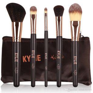 Кисти для макияжа 5 штук, набор. Kylie