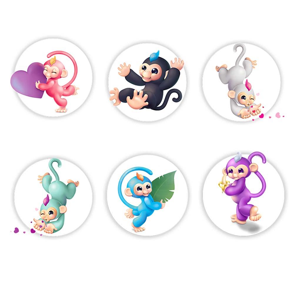 Интерактивные обезьянки  Fingermonkey вся семья