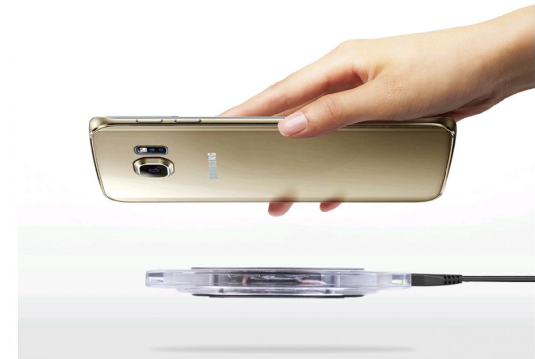Беспроводная зарядка для  iPhone/Samsung