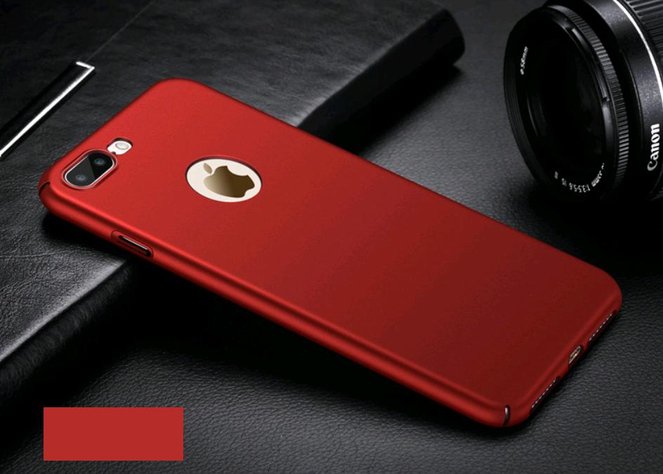 Поликарбонатный чехол-накладка для iPhone X/10  Thin Fit Series (Красный)