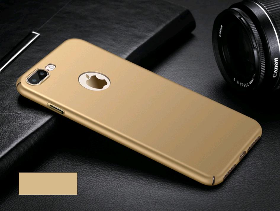 Поликарбонатный чехол-накладка для iPhone X/10 Thin Fit Series (Золотой)