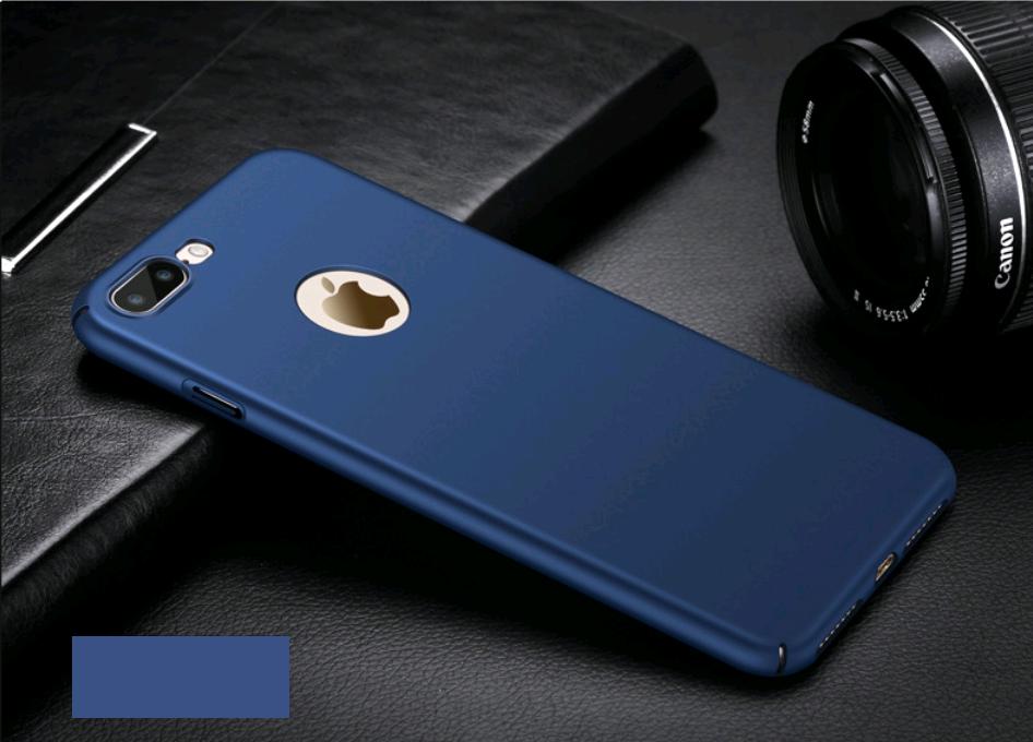 Поликарбонатный чехол-накладка для iPhone X/10 Thin Fit Series (Синий)