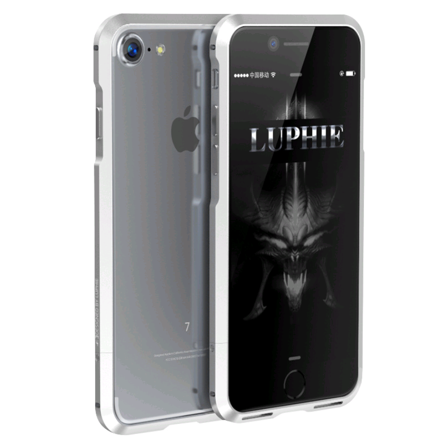 Алюминиевый бампер Luphie Blade Sword для Apple iPhone 7/8 (Серебро)