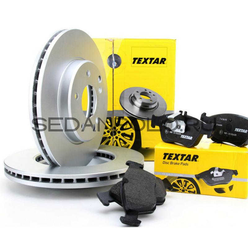 Тормозной диск передний Textar