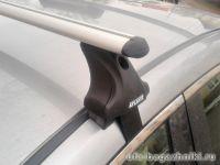Багажник на крышу Mazda 6 (2013г.-...), Атлант, аэродинамические дуги