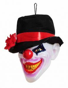 Голова клоуна светящаяся