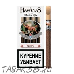 Сигариллы Havanas Сherry с мундштуком