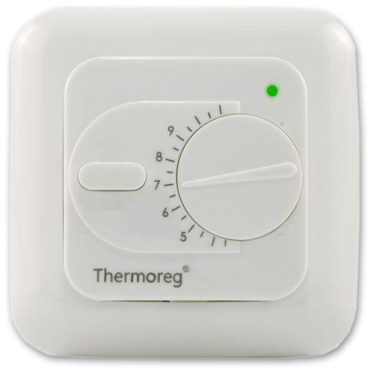 Электронный терморегулятор Thermoreg TI-200 классический для теплого пола