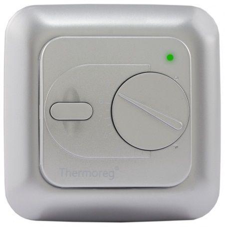 Электронный терморегулятор Thermoreg TI-200 silver (серебристый) для теплого пола