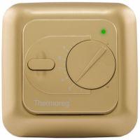 Электронный терморегулятор Thermoreg TI-200 gold (золотой) для теплого пола купить в Екатеринбурге