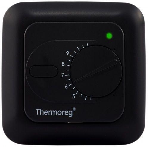 Электронный терморегулятор Thermoreg TI-200 black (черный) для теплого пола