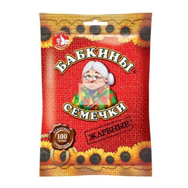 """Семечки """"Бабкины"""" 100гр"""