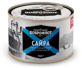 Сайра нат. №6 ЛВК ТМ Доброфлот 245г