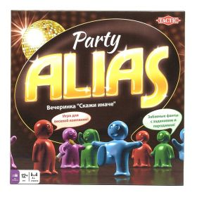 Настольная игра Alias Party (Скажи иначе. Вечеринка) 2