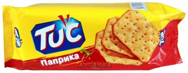 Крекер TUK Мини паприка 100г