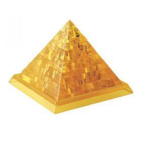 3D Пазл Пирамида желтая Crystal Puzzle