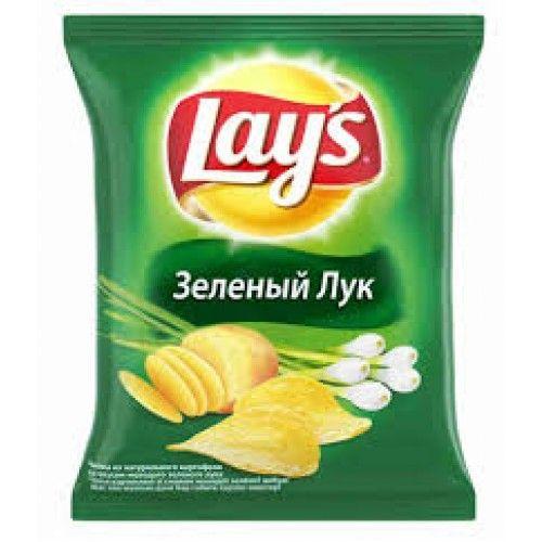 "Чипсы ""Лейз"" зеленый лук 40гр"