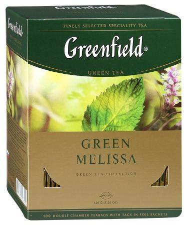 Гринфилд Грин Мелисса зеленый 1,5г. 100 пак.