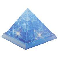 3D Пазл Пирамида голубая Crystal Puzzle