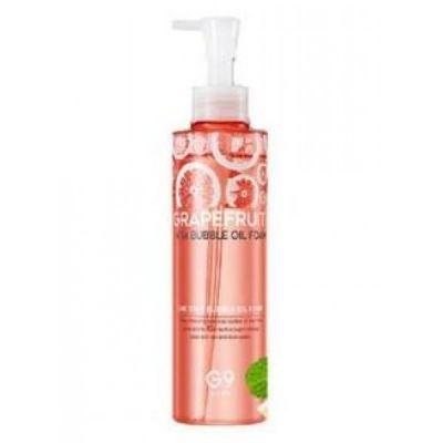 Масло-пенка для умывания с экстрактом грейпрфрута BERRISOM Grapefruit Vita Bubble Oil Foam 210гр